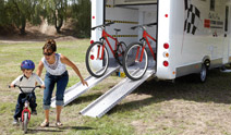 Cycling Holiday Motorhome Hire
