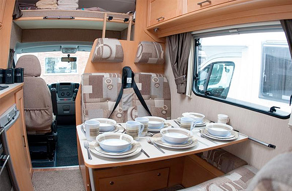 Elddis Autoquest 180 Luxury 6 Berth Motorhome