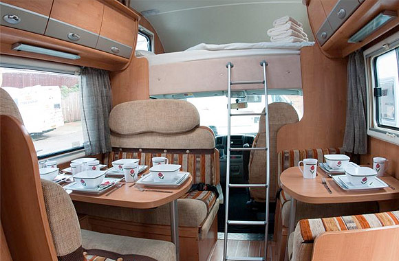 Rollerteam Atessa 707 Luxury 7 Berth Motorhome