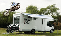 Motorsport Motorhome Hire
